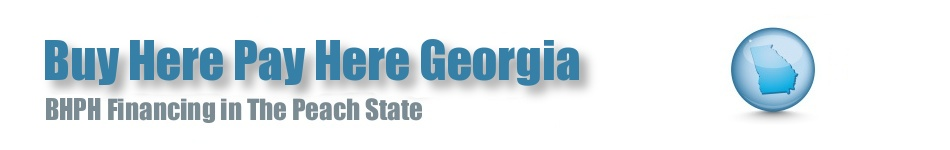 BHPH Georgia • Buy Here Pay Here Car Lots in GA